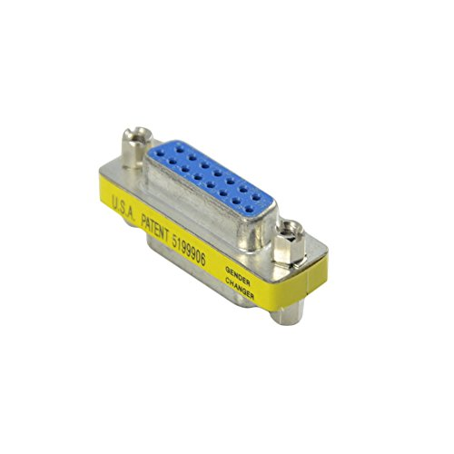 Db15-mini Gender Changer (Gender Changer mini DB15 15 pin female /female Konverter Buchse)