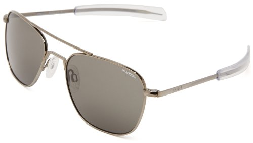 Randolph Engineering Flieger-Sonnenbrille im Gunmetal Grey AF5R611 55 Grey
