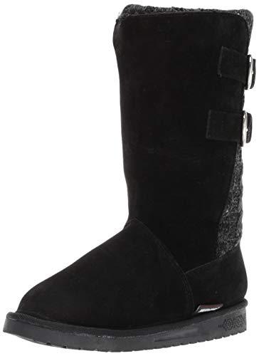 Mukluks MUK LUKS Women's Boots Jean-Stiefel für Damen, Ebony/Grey, 34 M EU - Mukluks Mukluk