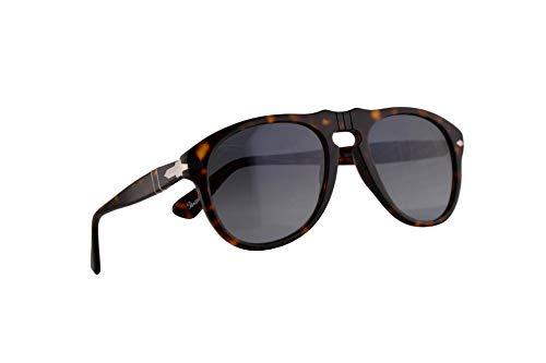 Persol Männer PO0649S Sonnenbrille w/Kristall Sky Gradient Lens 2486 52mm PO 0649 PO0649S 649S 649S PO 649 Havana groß
