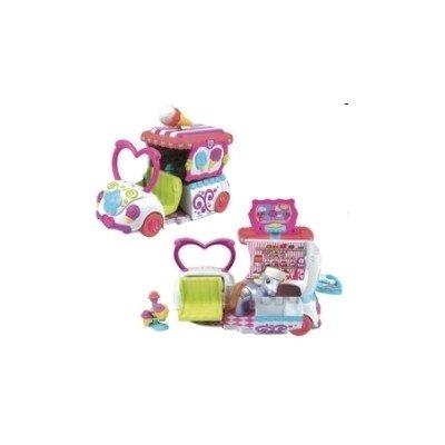 Hasbro 62927186 - My little Pony - Pony Eiswagen Schleckermäulchen (Posable Figur Puppe)