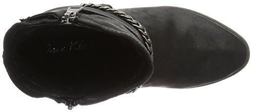 Jane Klain - Stiefelette, Stivali a metà gamba con imbottitura pesante Donna Nero (Schwarz (000 Black))