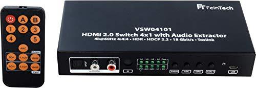 Imagen de Switch Hdmi 4K Feintech por menos de 70 euros.
