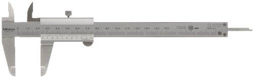 MITUTOYO Präzisionsmessschieber mit Feststellschraube | DIN 862 | Messbereich 0-150mm