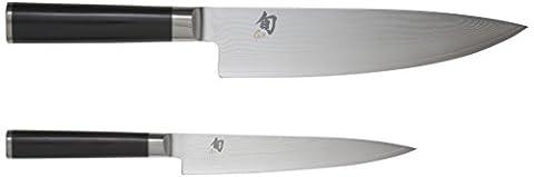 Kai DMS.220 Shun Damas Set de 2 Couteaux Japonais