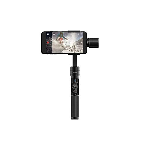 Dobot Rigiet Gimbal 3-Achsen Stabilisator für Smartphone mit App für Autotracking Panoramabilder und Timelapse inkl. GoPro Halterung - Machen Carbon Filter