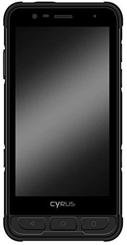Cyrus CS45 XA Outdoor Smartphone, Android 9.0 Pie, 4400 mAh Akku, Dual SIM, 5,0 Zoll Full HD, 64GB, Fingerprint, SOS Taste, stoßfest, staubdicht, wasserdicht, schwarz