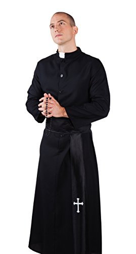 Party Ideen Toga Kostüm (Boland 83530 - Erwachsenenkostüm Heiliger Priester,)