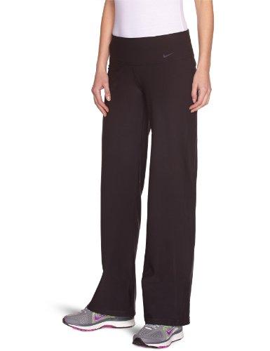 NIKE Damen Hose Legend Regular Fit, black/cool grey, XS, 440677-010,