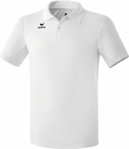 Erima Kinder Poloshirt Funktions, weiß, 164, 211341