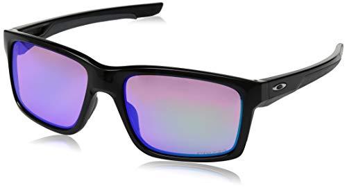 Oakley Herren Sonnenbrille Mainlink 926423, Schwarz (Polished Black/ PRIZM Golf), 57