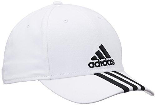 Adidas Cappello con visiera, motivo a 3 righe Bianco bianco OSFL