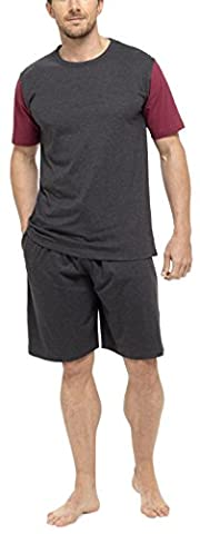 Short Court Coton Homme - Tom Franks Hommes Coton Jersey T-Shirt &