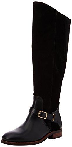 GANT Footwear Damen Lucille Schlupfstiefel, Schwarz (Black), 38 EU