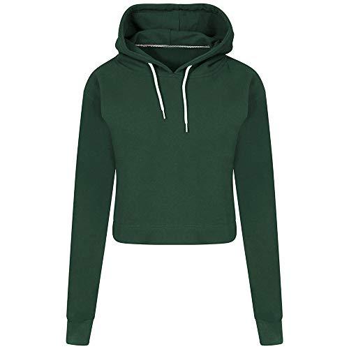 Kobay felpa con cappuccio da uomo a maniche lunghe con cappuccio in maglia a maniche lunghe(verde,small)