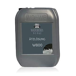 Ätzlösung Betonreiniger   keine Grundierung sondern W800   Untergrundvorbereitung für Bodenfarbe Epoxidharz - 10L
