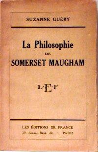 La philosophie de somerset maugham.