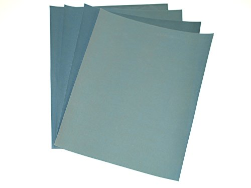 Preisvergleich Produktbild Wet And Dry Sandpaper Sanding Polishing Kit Paper Sheet Grit 1000, 1200, 1500 & 2000 by Mixed