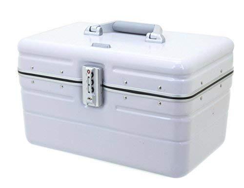 Beauty Case Silber (DAVIDT´S Beauty Case - Hartschale - hardcase- 38x25x26 cm - 1,3kg - 17Liter - Aufsteckmöglichkeit auf Trolley - div. Farben (silber))