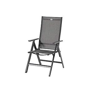 Hartman Aruba stilvoller Multipositionssessel in Xerix und Anthrazit, solides Aluminiumgestell, Sitzfläche aus…