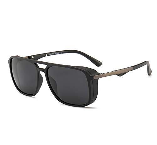 QIA Polarisierte Sonnenbrillen für Männer, Radsport-Sonnenbrillen von HD 1.1TAC, Sport-TR90-Sonnenbrillen,A