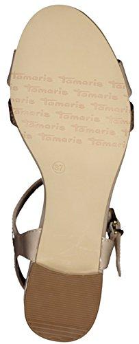Tamaris 28220, Salomés Femme SHELL/TAUPE