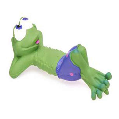 Naturkautschuk Badespielzeug TREVOR der Frosch