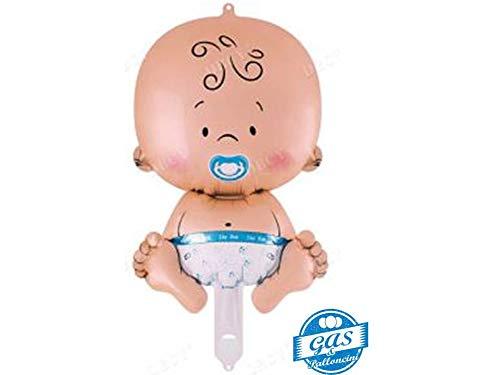 Giant Cute Boy Baby Supershape Helium Ballon Dekoration geeignet für Baby Dusche Taufe Neugeborene Geburt