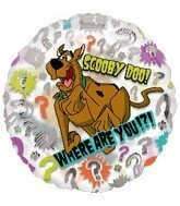 18 Scooby-Doo Where are You? Balloon by Single Source Party ()
