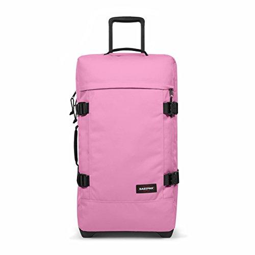 Eastpak TRANVERZ M Equipaje de mano, 67 cm, 80 liters, Rosa (Coupled Pink)