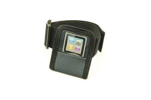 Playertasche i line Black Edition Small für Oberarm (-umfang: ca. 23 cm bis ca. 37 cm). Hergestellt in Deutschland (Oberarm-umfang)