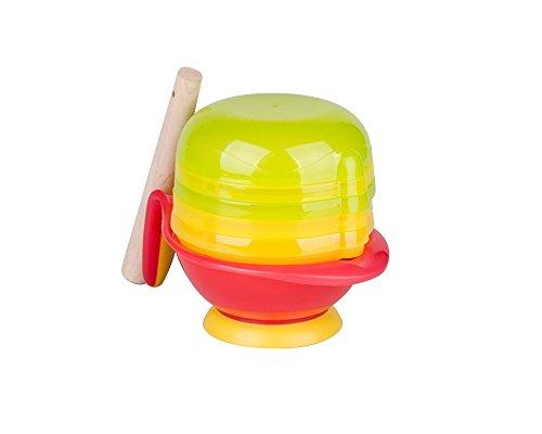 Tofern 8-in-1BPA libero Baby bambini centrifuga succo di frutta filtro Baby cibo (frutta verdura) pepe tritatutto con ciotola mikrowell stretta eignet