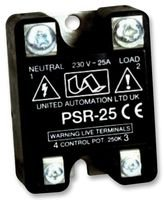 POWER CONTROLLER, 25A PSR-25 By UNITED AUTOMATION