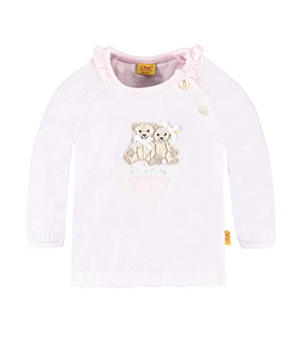 Steiff Collection Mädchen, Hemd, T-Shirt 1/1 Arm, Rosa (barely Pink 2560), 62