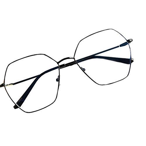 Blaues Licht, das Gläser blockiert, Spielebrillen Vintage Brillen, Anti-Blendung-Müdigkeit, die Kopfschmerzen blockiert Auge-Belastung-Augenschutz Unisex (Männer/Frauen)-1