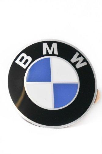 Preisvergleich Produktbild Original BMW Plakette mit Klebefolie D=64, 5MM 3er 5er 6er 7er 8er X5 Z1 Z3 36131181080