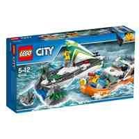 Preisvergleich Produktbild LEGO City 60168 - Segelboot in Not