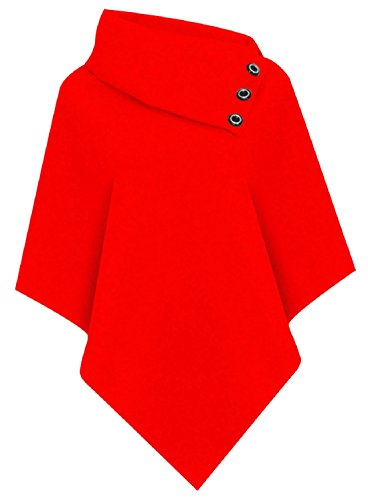 COMFYLOT LIMITED - Poncho -  donna Red