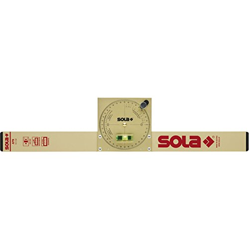 Sola NAM 50 50 cm Inclinometer - Gold