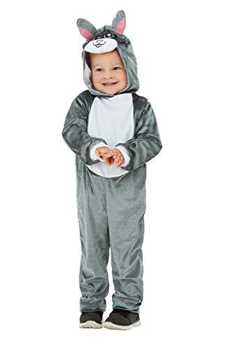 Smiffys 47712T1 Kleinkind Häschen Kostüm Unisex - Häschen Kostüm Für Kleinkind