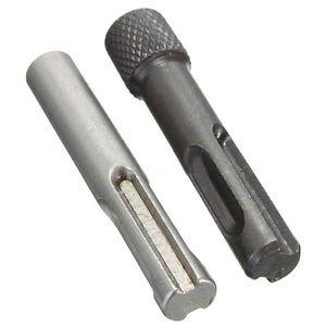 GENERIC 2X Impact Driver Adaptors Set Drill Bit Adapter 1/4 for SDS Hammer Socket Nut -