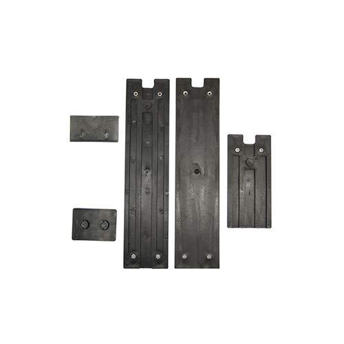 ATIKA Ersatzteil - Gleitplattenset neu für Brennholzspalter ASP 12 *NEU*
