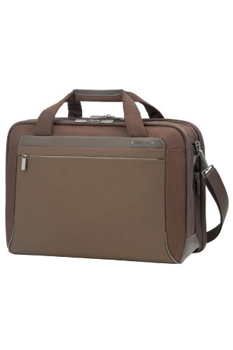 Samsonite-Cartella-Spectrolite-Bailhandle-L-173-Espandibile-29-liters-Marrone-Tobacco