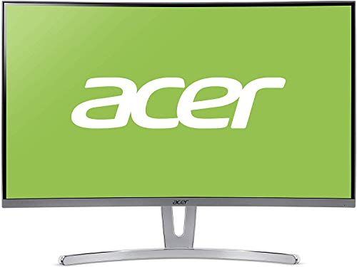 Acer ED (ED273wmidx) 69 cm (27 Zoll) VA Curved ZeroFrame Monitor Matt (HDMI, DP, VGA, FHD 1920x1080, 4ms GTG, 75Hz, 250 Nits, FreeSync)