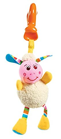 Tiny Love 33311076 - Lilly Lamb Rattle und Teether