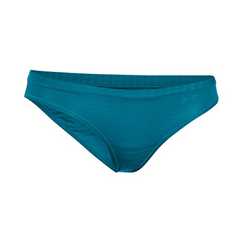 Under Armour Sheers Bikini Novelty, Biancheria Intima Donna Bayou Blue/Blue Infinity