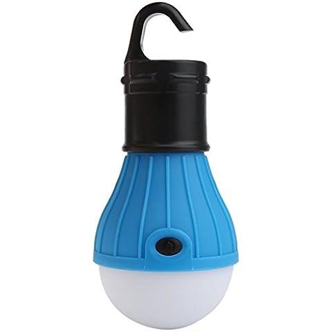 Longra Colgante al aire libre del LED del bulbo camping tienda de luz, lámpara de pescar portátil