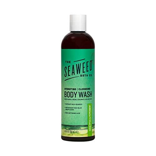The Seaweed Bath Co, Soothing Body Wash, Eucalyptus & Peppermint Scent, 12 fl oz (360 ml) by Seaweed Bath Co.