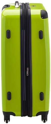 HAUPTSTADTKOFFER - Alex - Hartschalen-Koffer Koffer Trolley Rollkoffer Reisekoffer Erweiterbar, 4 Rollen, TSA, 75 cm, 119 Liter, Apfelgrün - 4