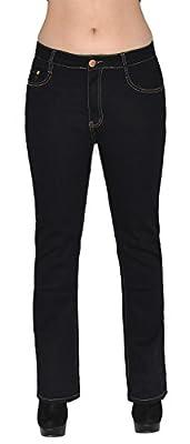 Womens Jeans Womens High Waist Plus Size Jeans Ladies Big Size Pants J111